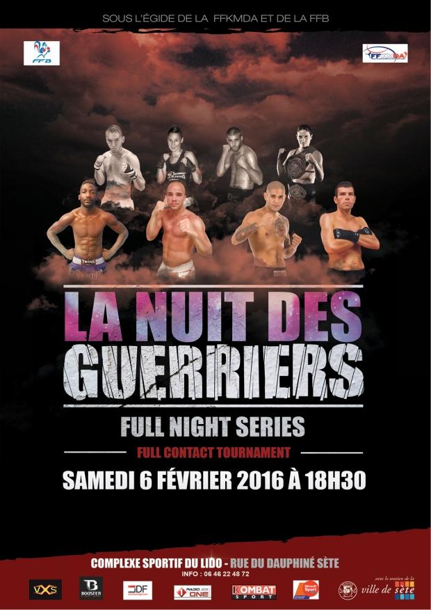 nuit des guerriers 2016