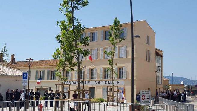 Le musée du cinéma et de la gendarmerie lors de son inauguration