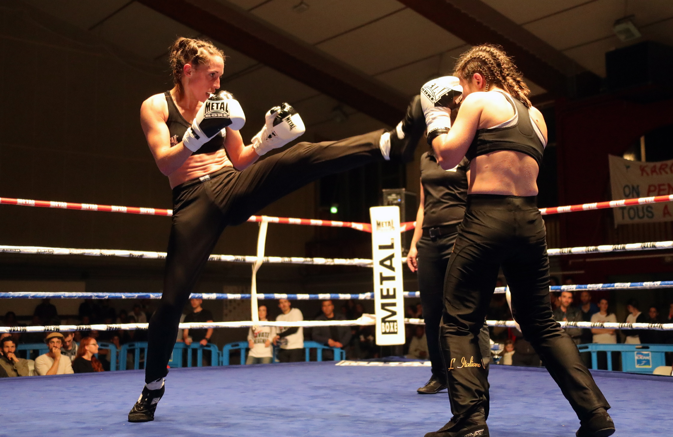 photos gala de boxe  savate à Blagnac