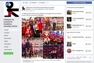 Capture d écran page Facebook FMDA